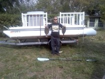 how to build your own pontoon boat